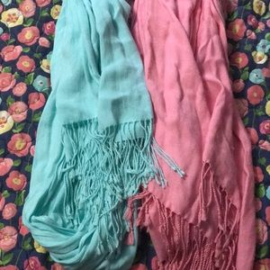 Accessories - Two long scarves